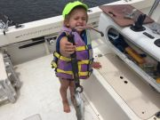 T-Time Charters, My daughter shows me how it's done
