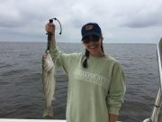T-Time Charters, Jeanna with a good one