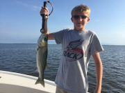 T-Time Charters, Riley with a nice sound striper