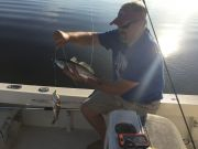 T-Time Charters, Double header puppy drum for Todd