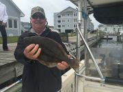 T-Time Charters, Keeper flounder for Ted