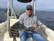 T-Time Charters, Ralph with a nice sheepshead this morning