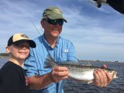 T-Time Charters, Bruce shows who the boss is with a 19 incher