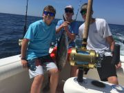 T-Time Charters, KJ kicked this tunas butt