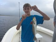 T-Time Charters, Fun fishing this morning. Harrison caught the keepers