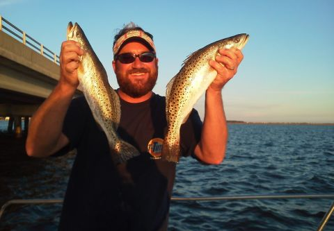 T-Time Charters, INSHORE TRIP 1/2 DAY