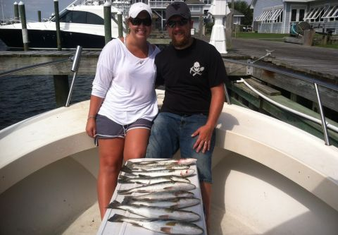 T-Time Charters, INSHORE  or NEARSHORE TRIP 3/4 DAY